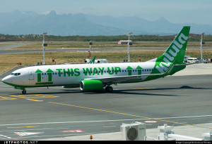 Kulula 737NG, This Way Up.