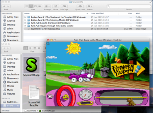 MS-DOS Putt-Putt on OS X
